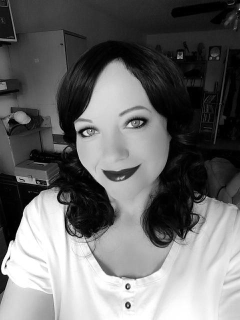 Black And White Selfie by cheryl.lowery.r