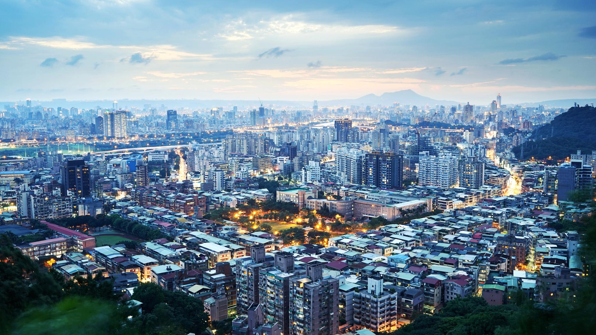 Taipei city by Han-Lin