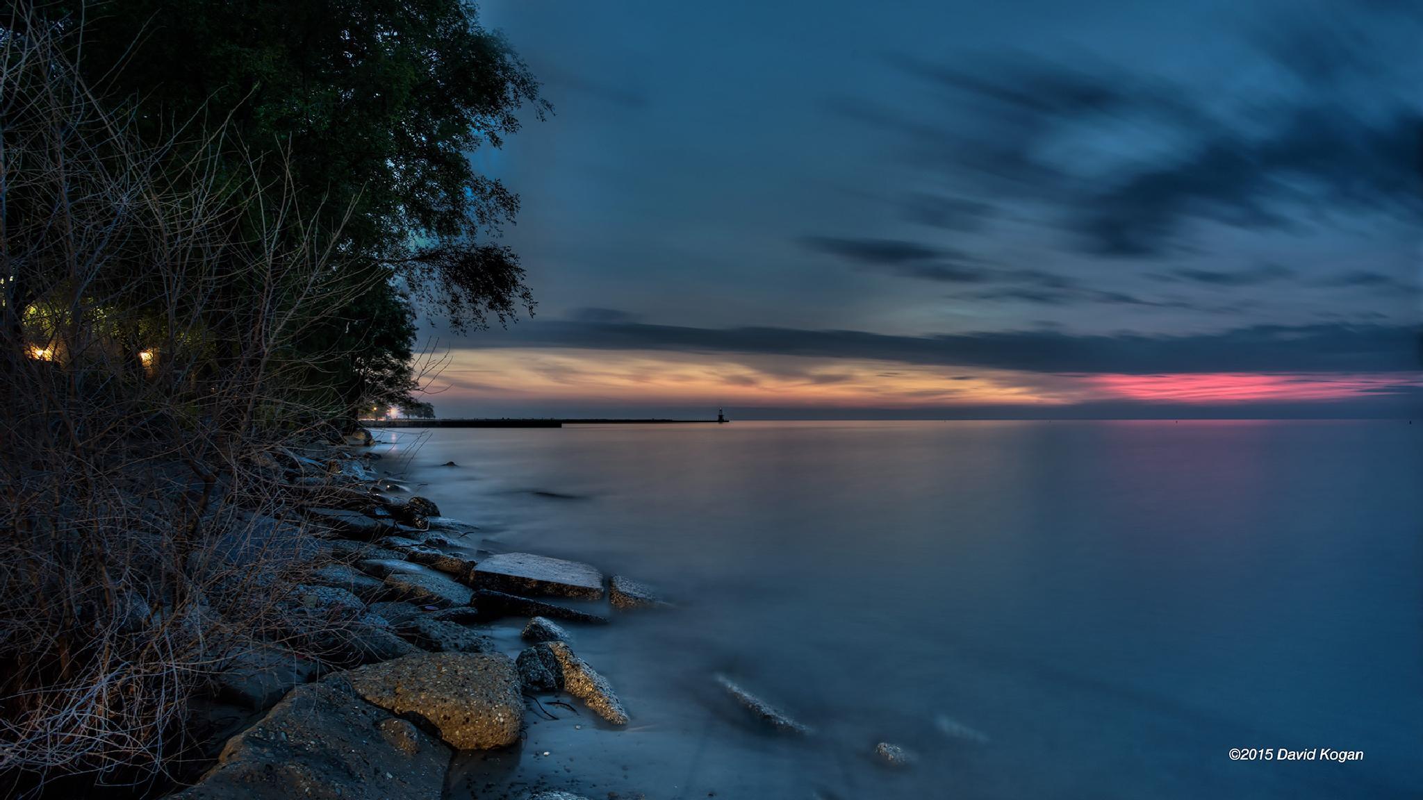 Sunrise Summer Solstice by David Kogan
