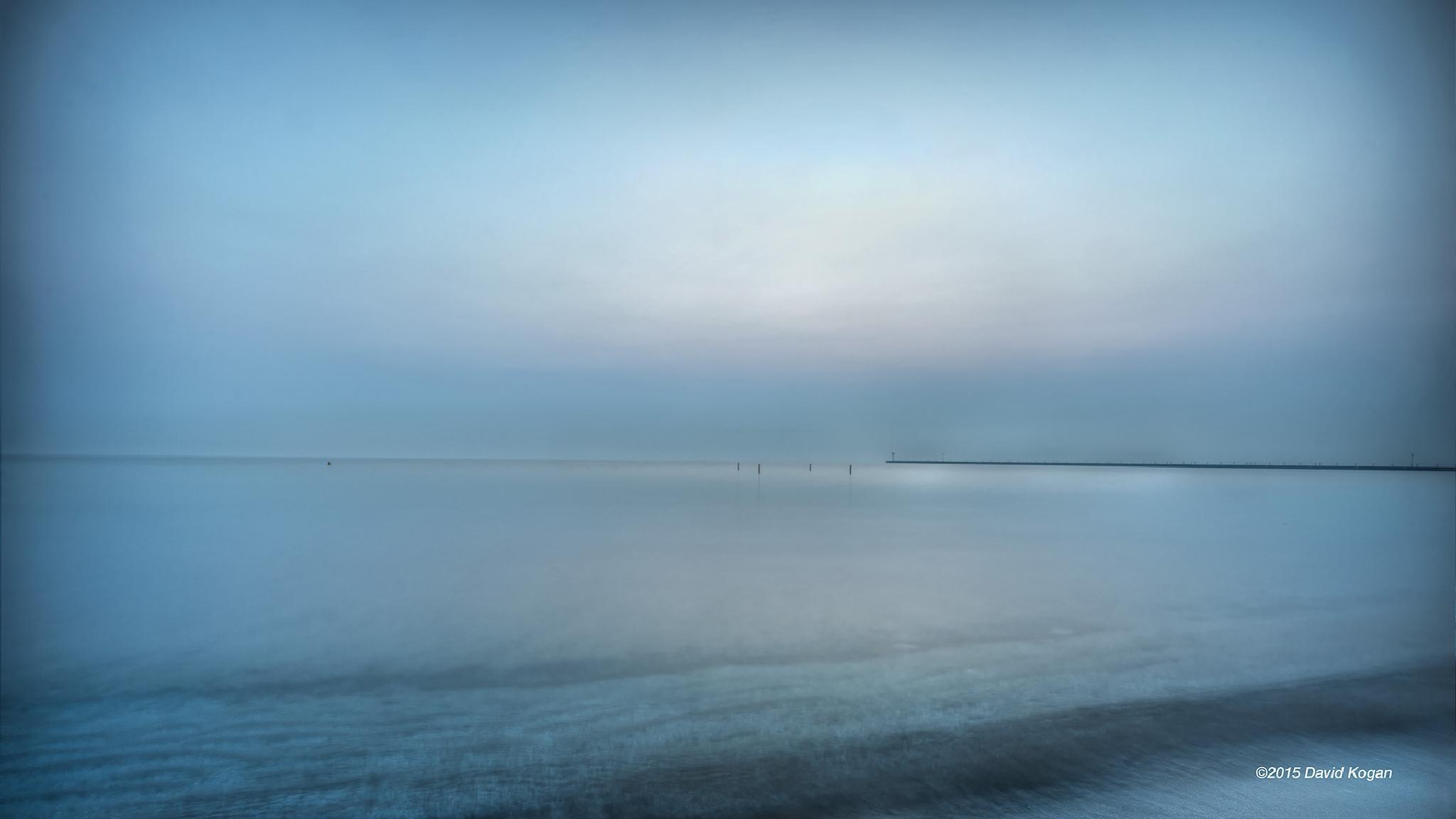 Sunrise Lake Michigan by David Kogan