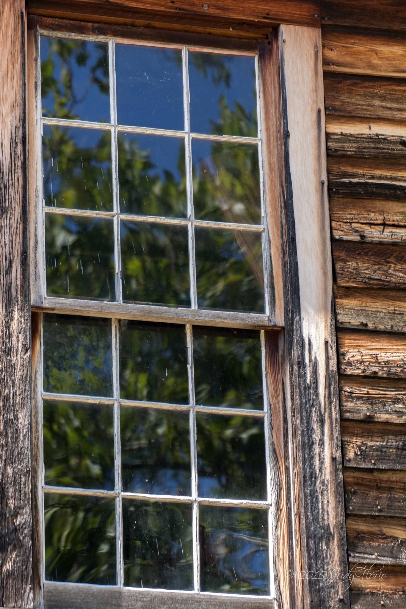 Batsto Village Sawmill Window by Judy Florio