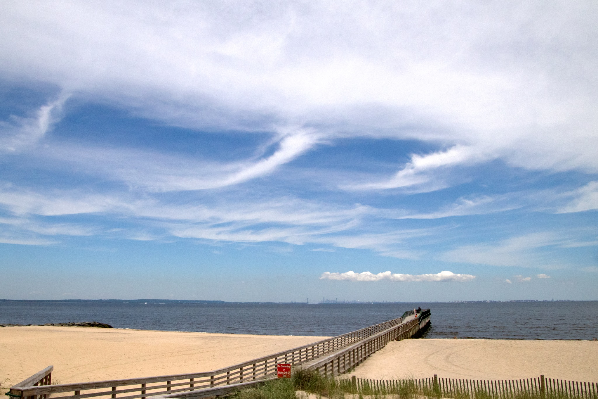 Fishing Pier at the Beach by Judy Florio