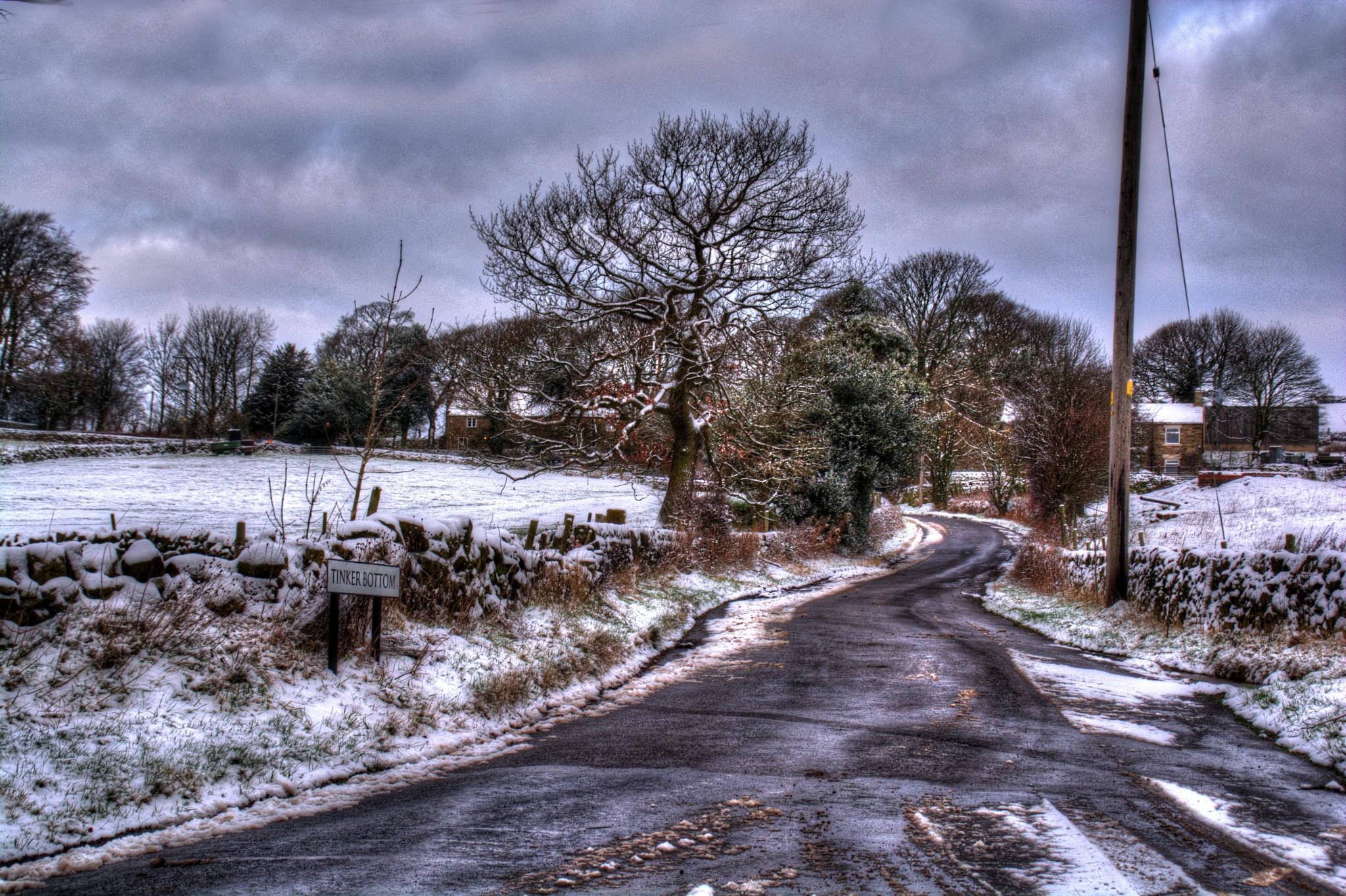 country lane sheffield landscape by Stuart Robertshaw Photography