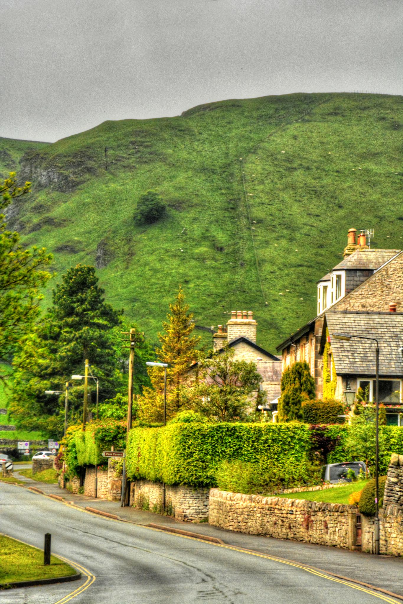 castleton in the peak district derbyshire the home of blue john by Stuart Robertshaw Photography
