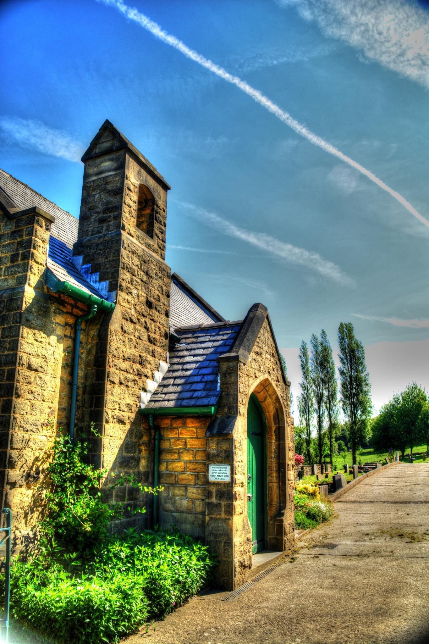church at bradfield  by Stuart Robertshaw Photography