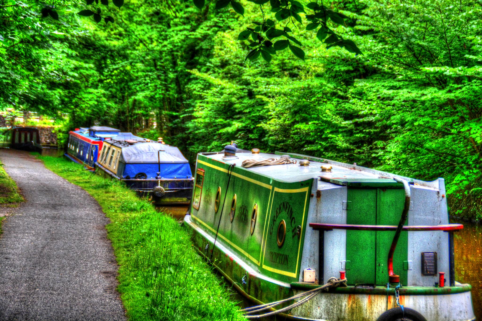 whaley bridge canal derbyshire by Stuart Robertshaw Photography