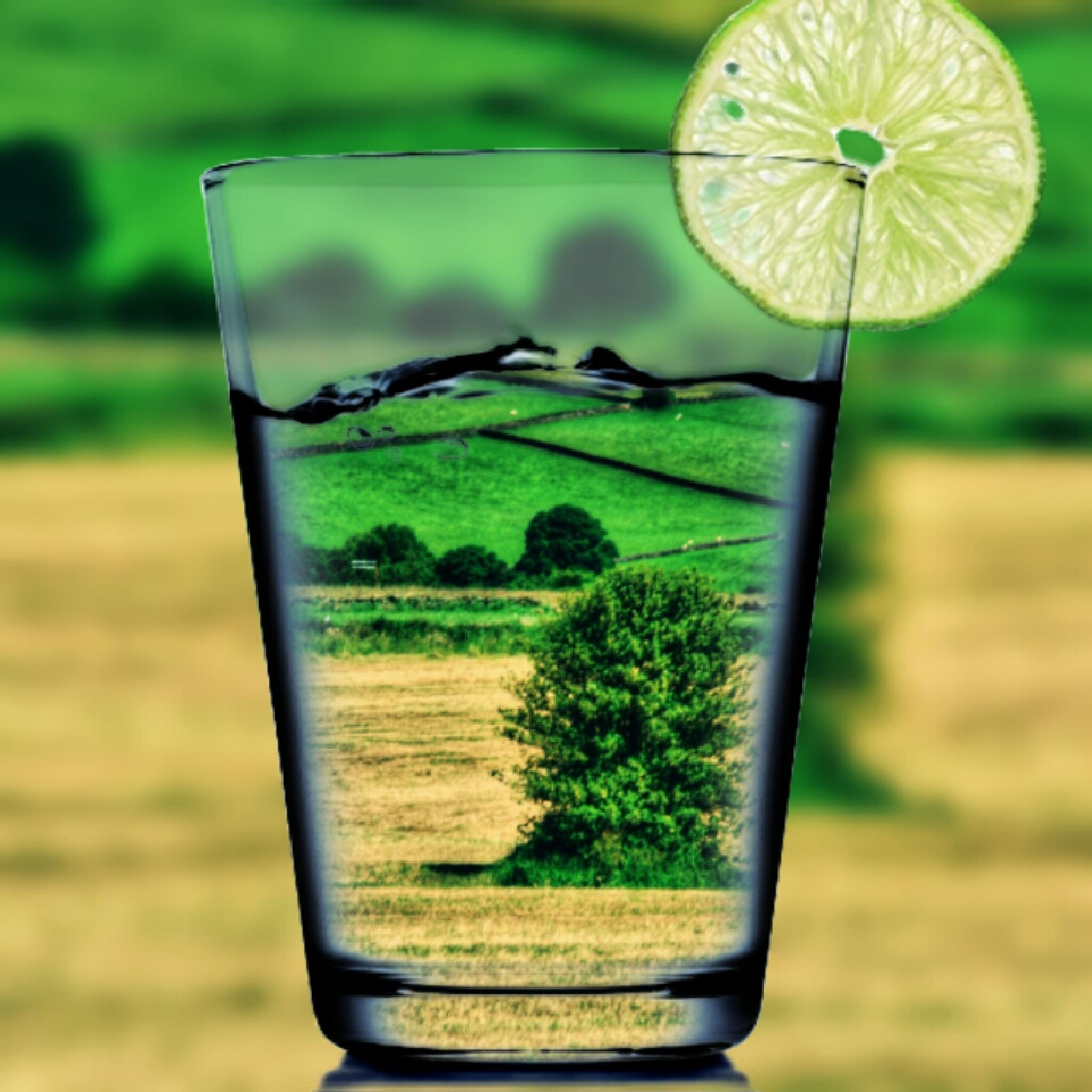 view at worral sheffield summer afternoon through a glass by Stuart Robertshaw Photography
