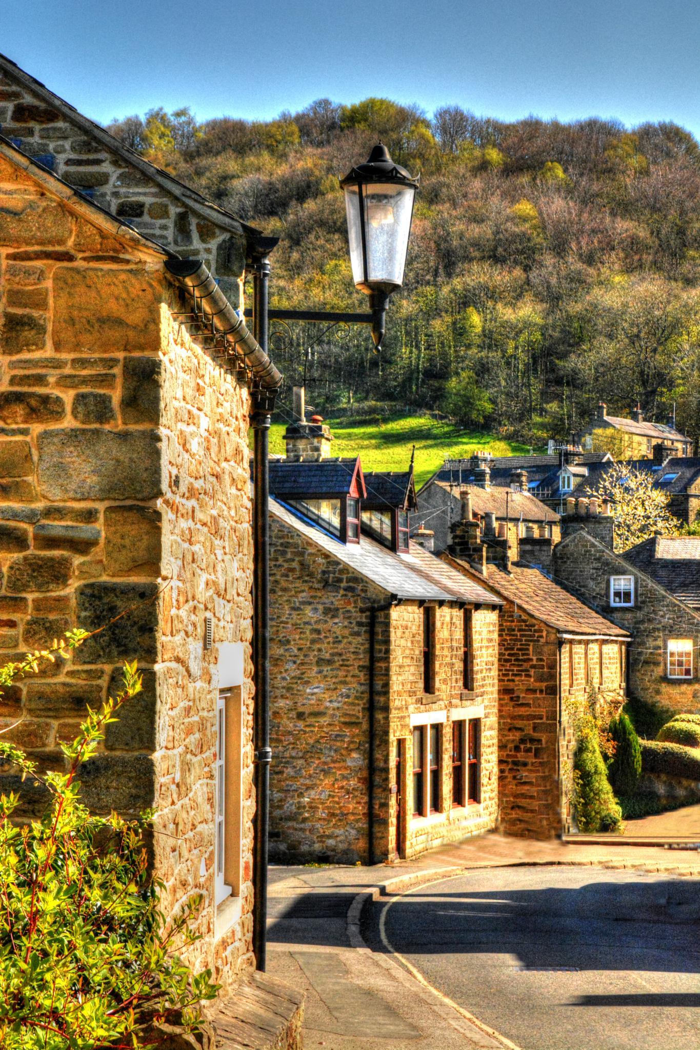 derbyshire village by Stuart Robertshaw Photography