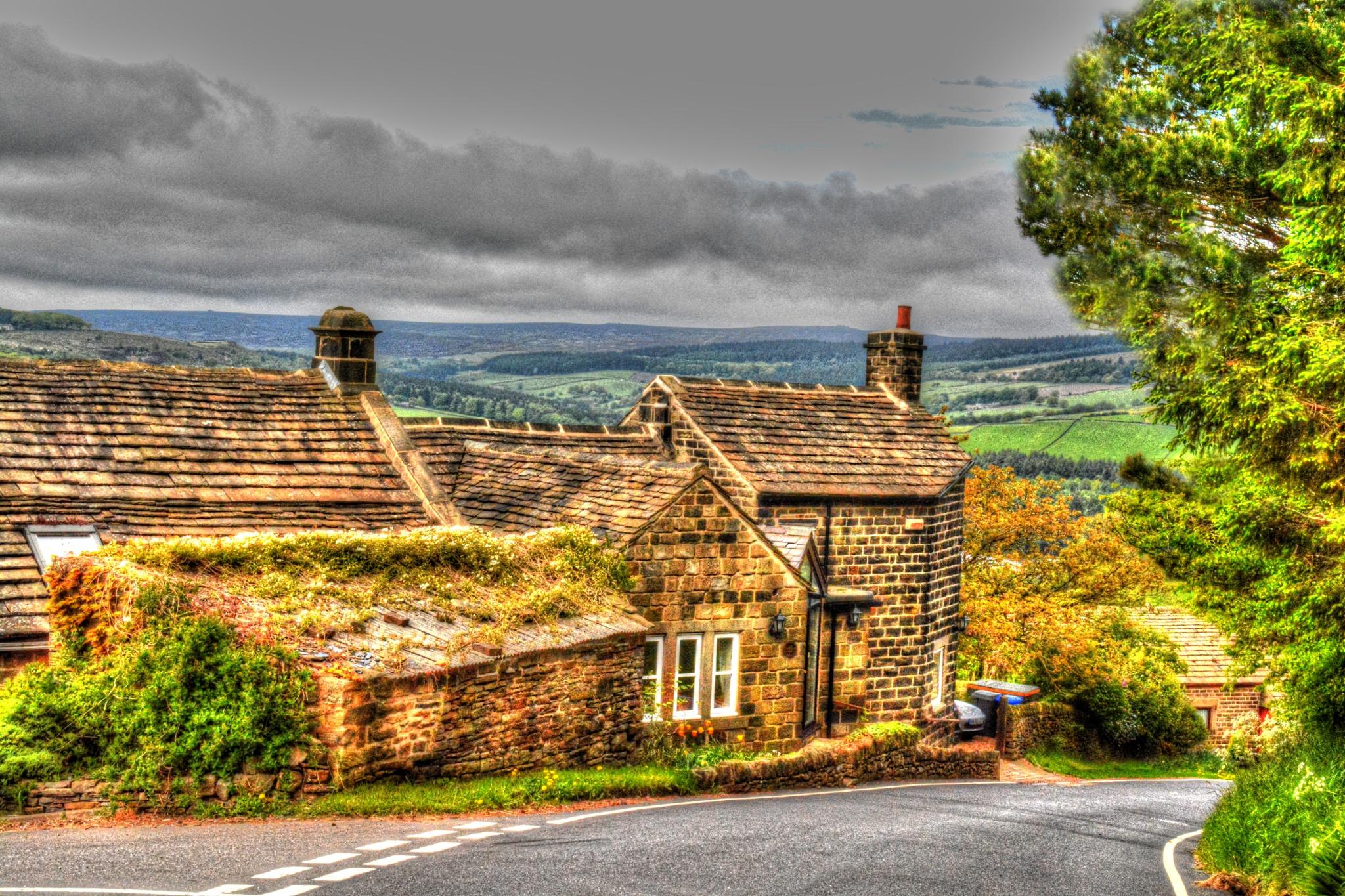 countryside view of bradfield sheffield by Stuart Robertshaw Photography