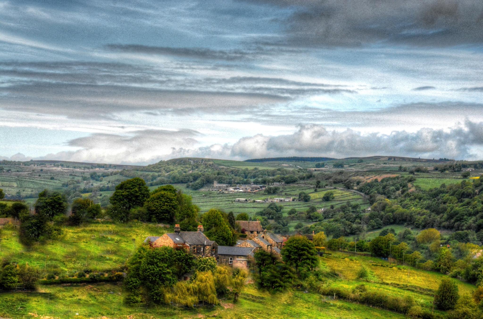 countryside view near bradfield yorkshire by Stuart Robertshaw Photography