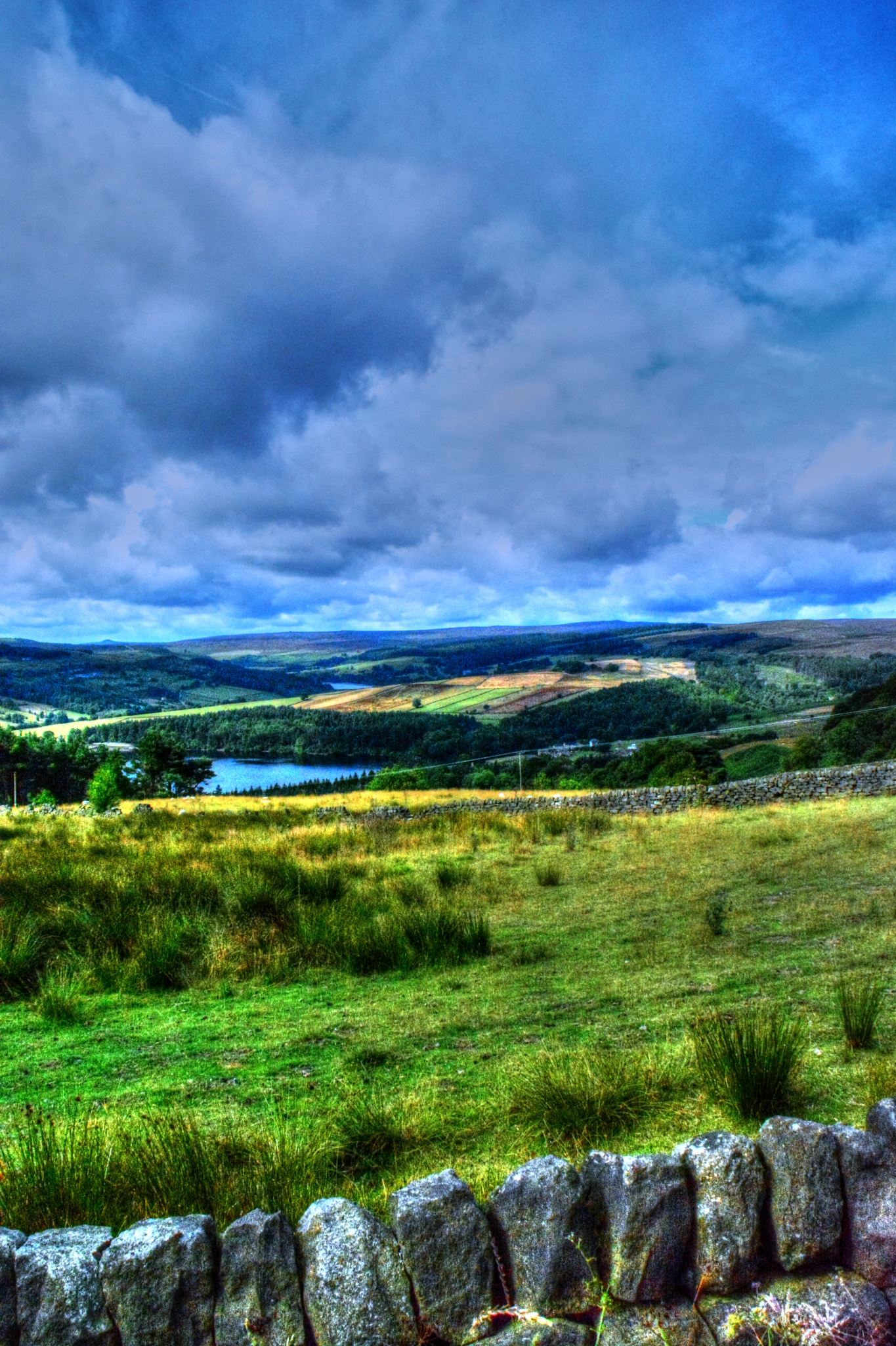 countryside view bradfield by Stuart Robertshaw Photography