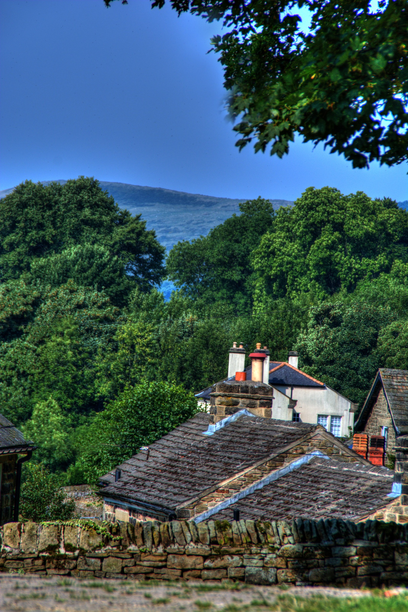 countryside village derbyshire landscape by Stuart Robertshaw Photography