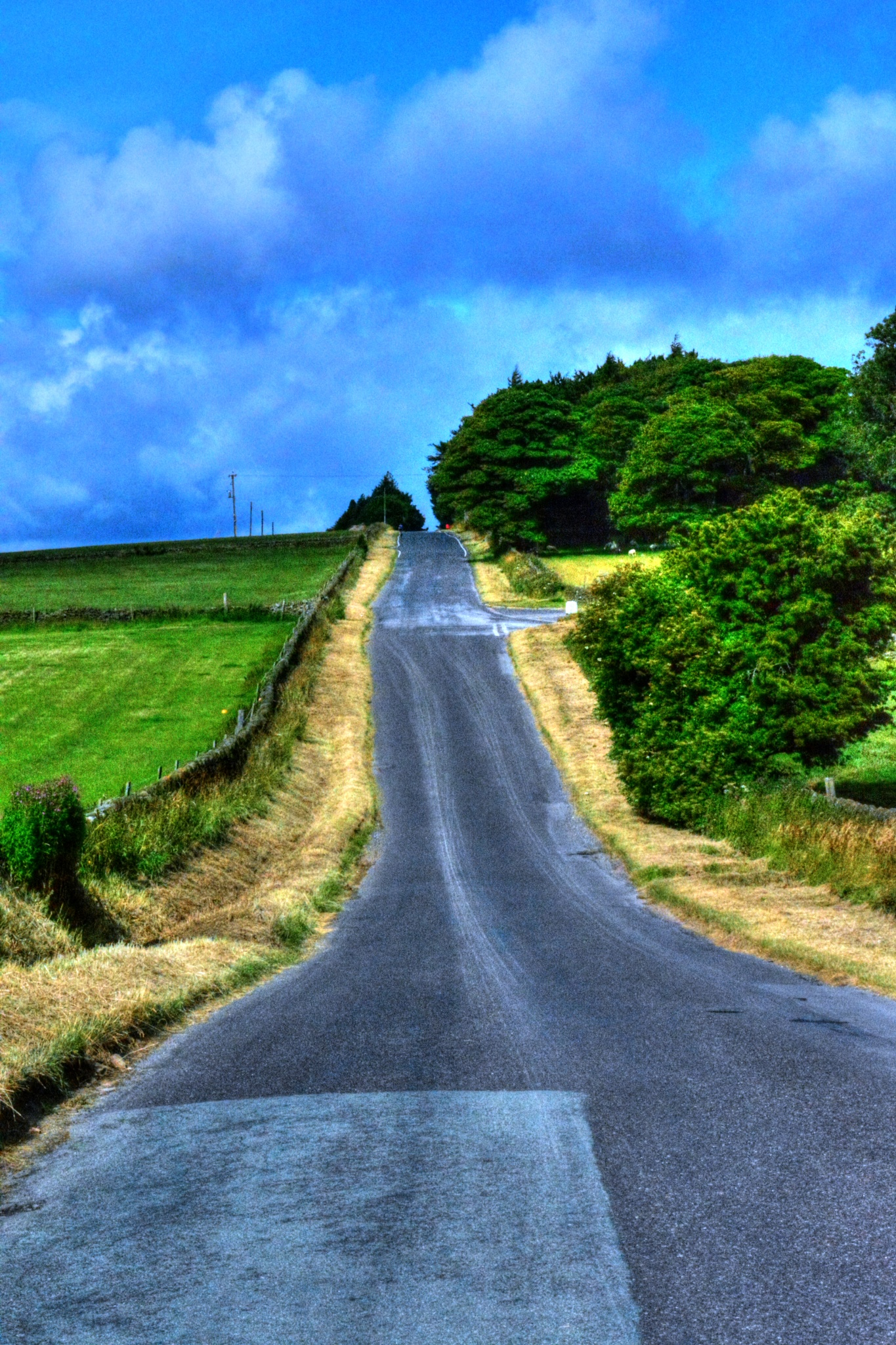country lane bradfield landscape by Stuart Robertshaw Photography