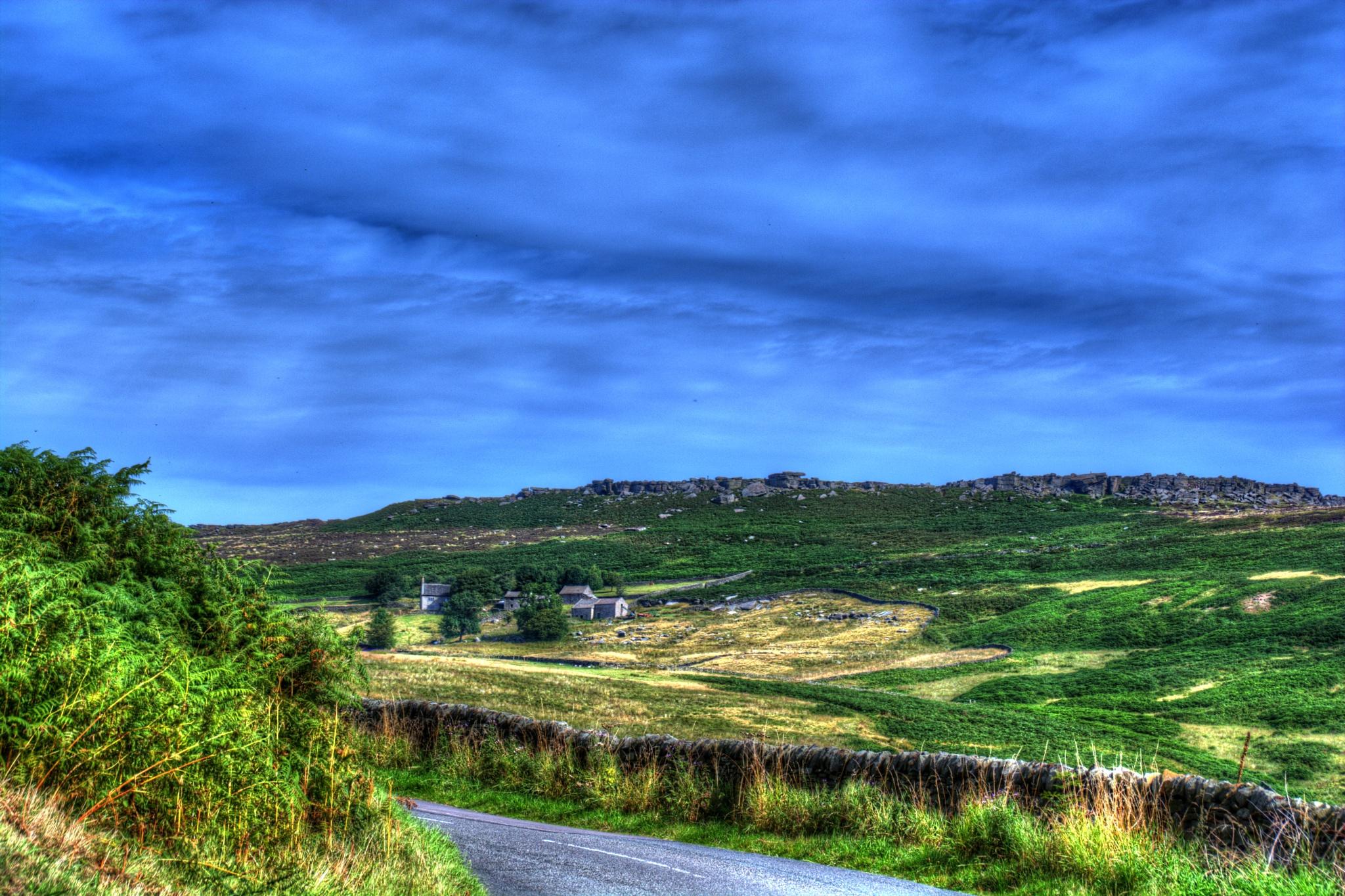 derbyshire landscape by Stuart Robertshaw Photography