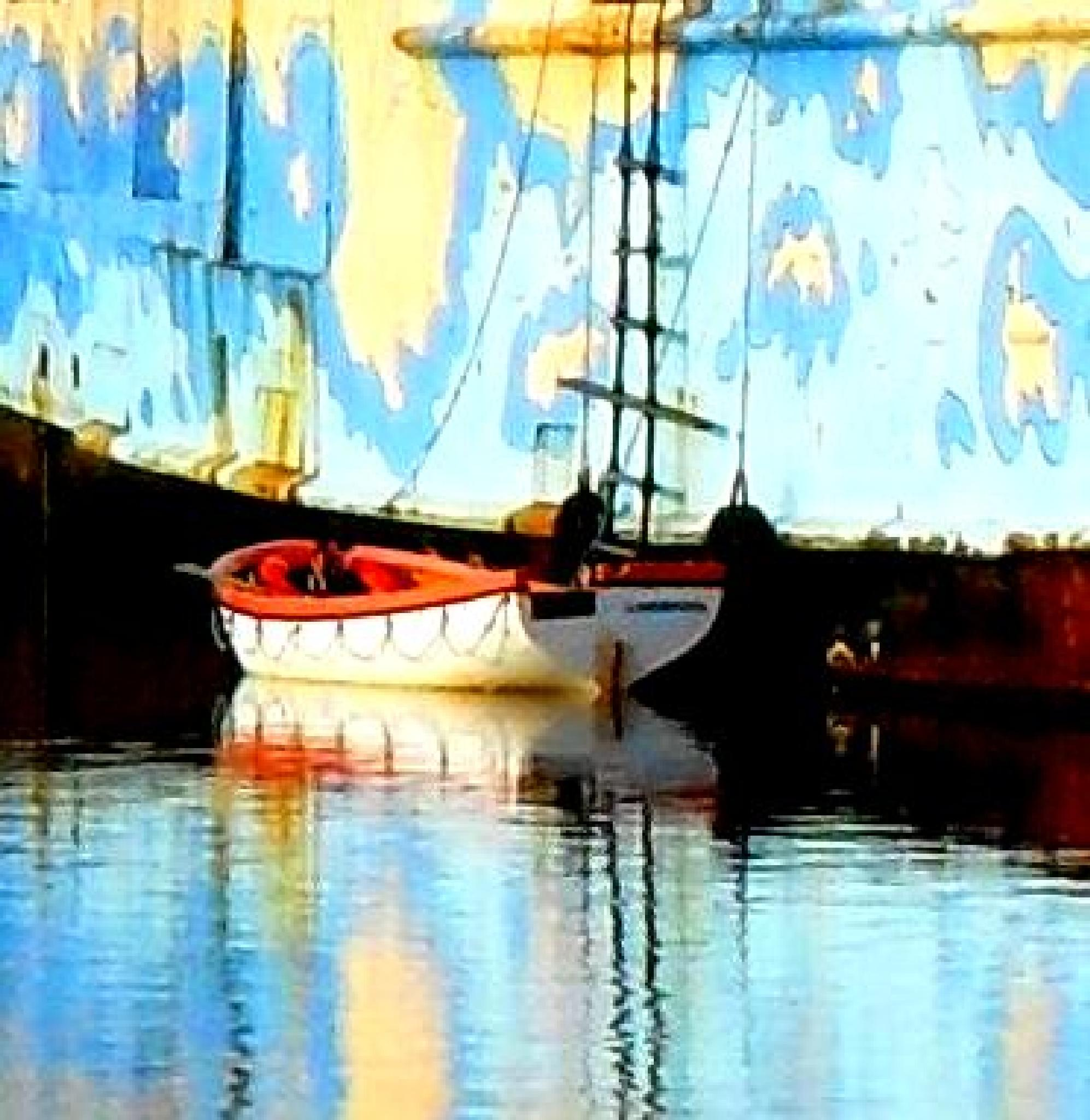 Old boat by Odard