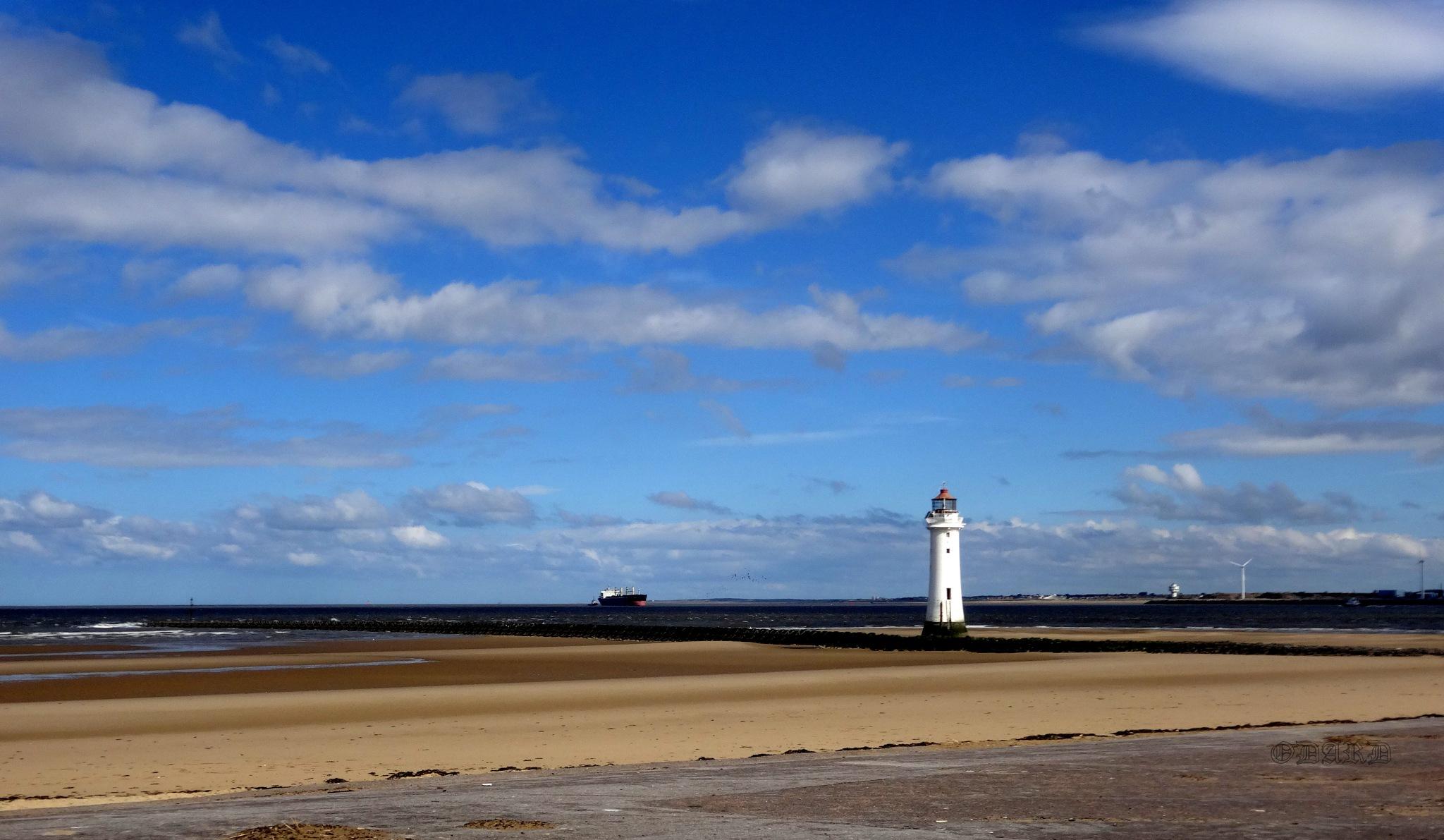 New Brighton morning by Odard