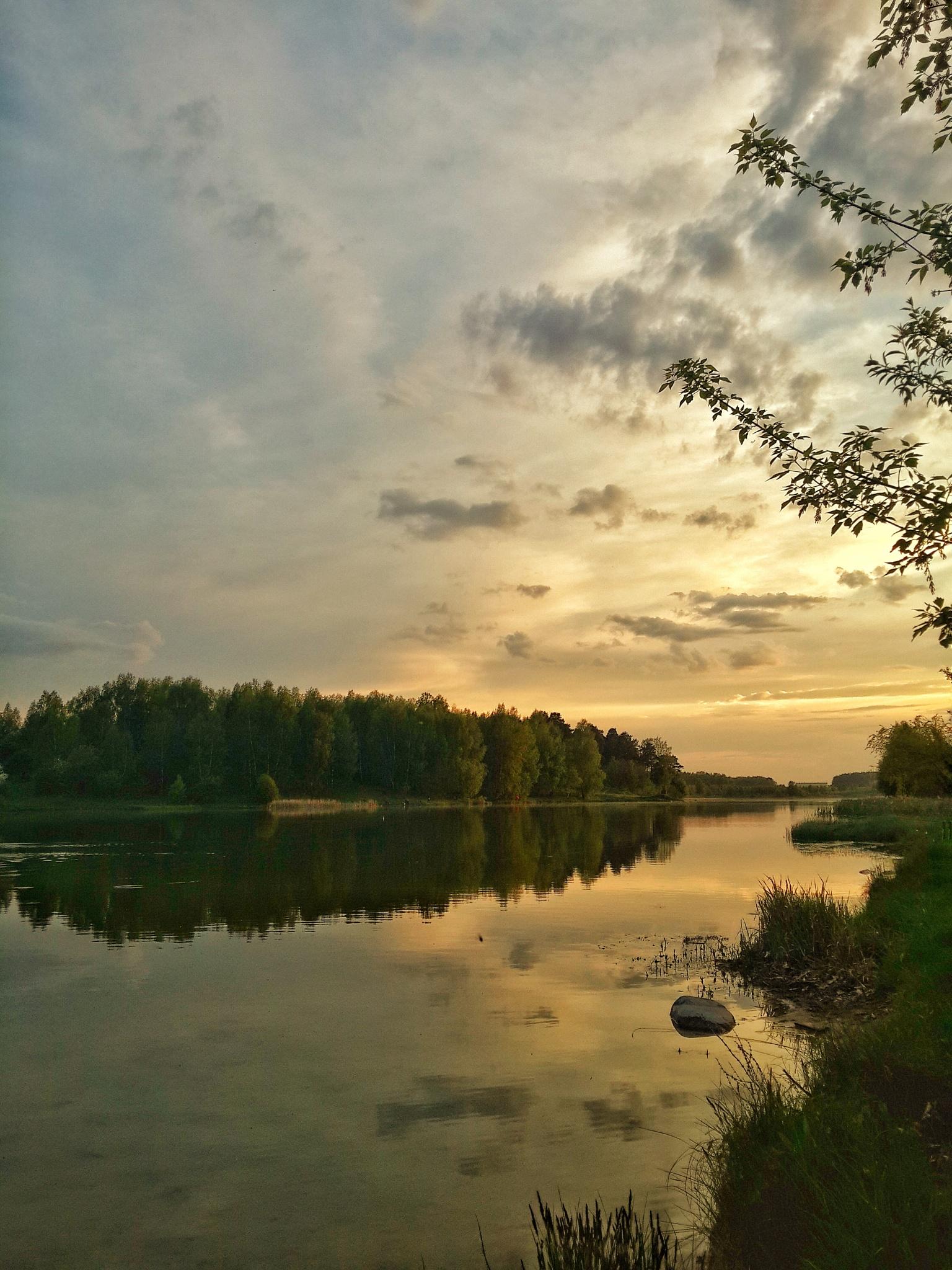 Golden sunset by kozakovs