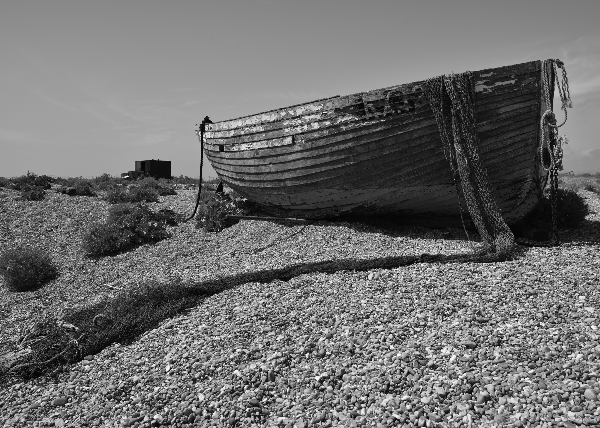The  boat at dungeness  ! by juliehatt123