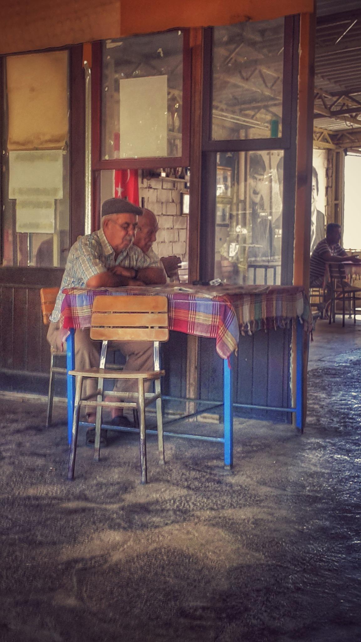 An ordinary day by Meriç Aksu