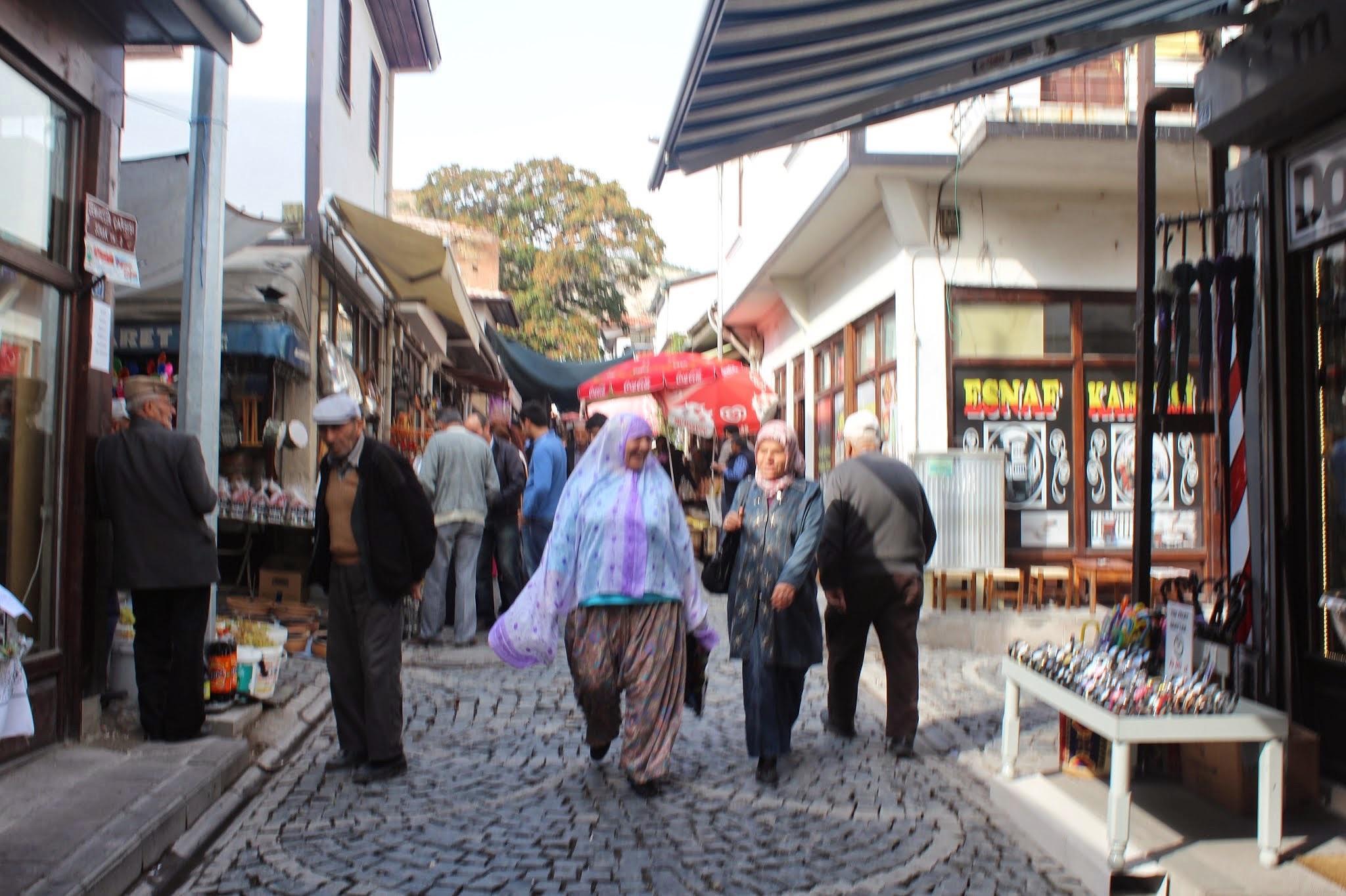 Local people in Beypazarı by Meriç Aksu