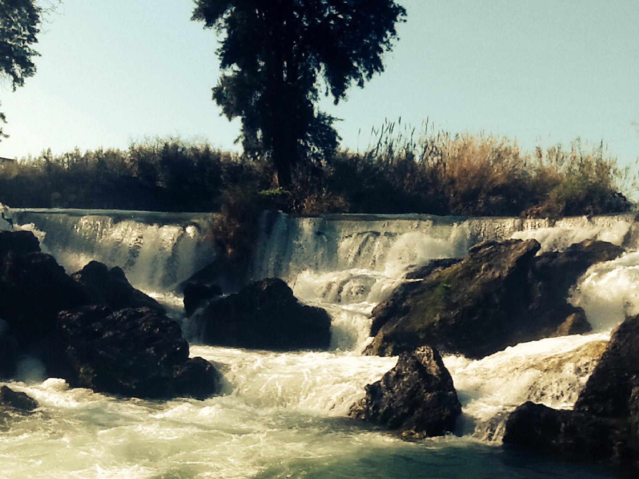 Waterfall in Tarsus by Meriç Aksu