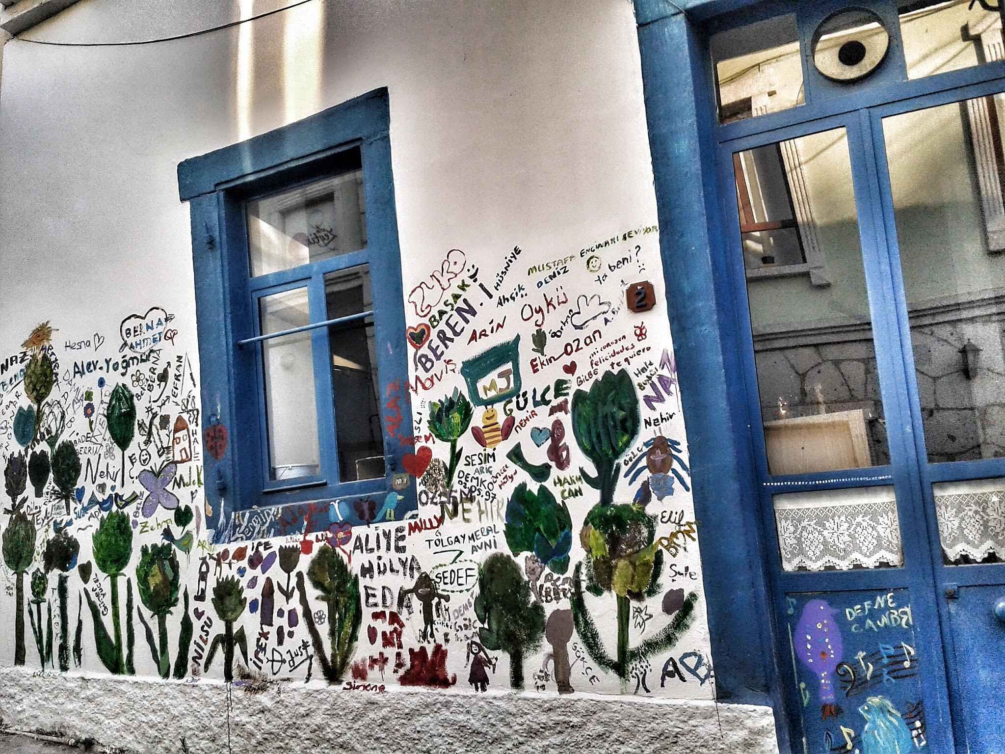 Street of Art in Urla by Meriç Aksu