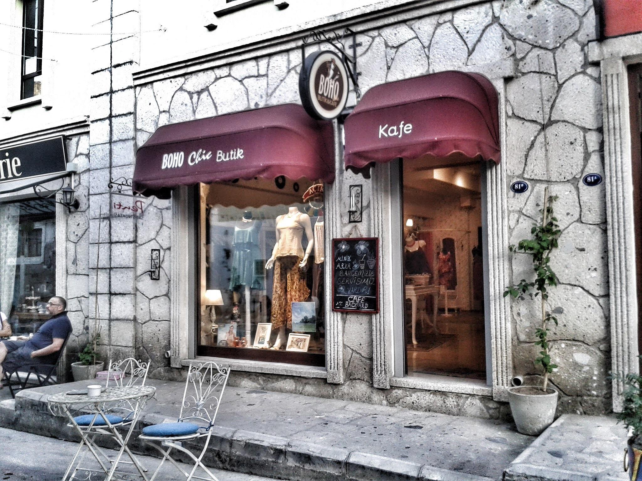 Art street in Urla by Meriç Aksu