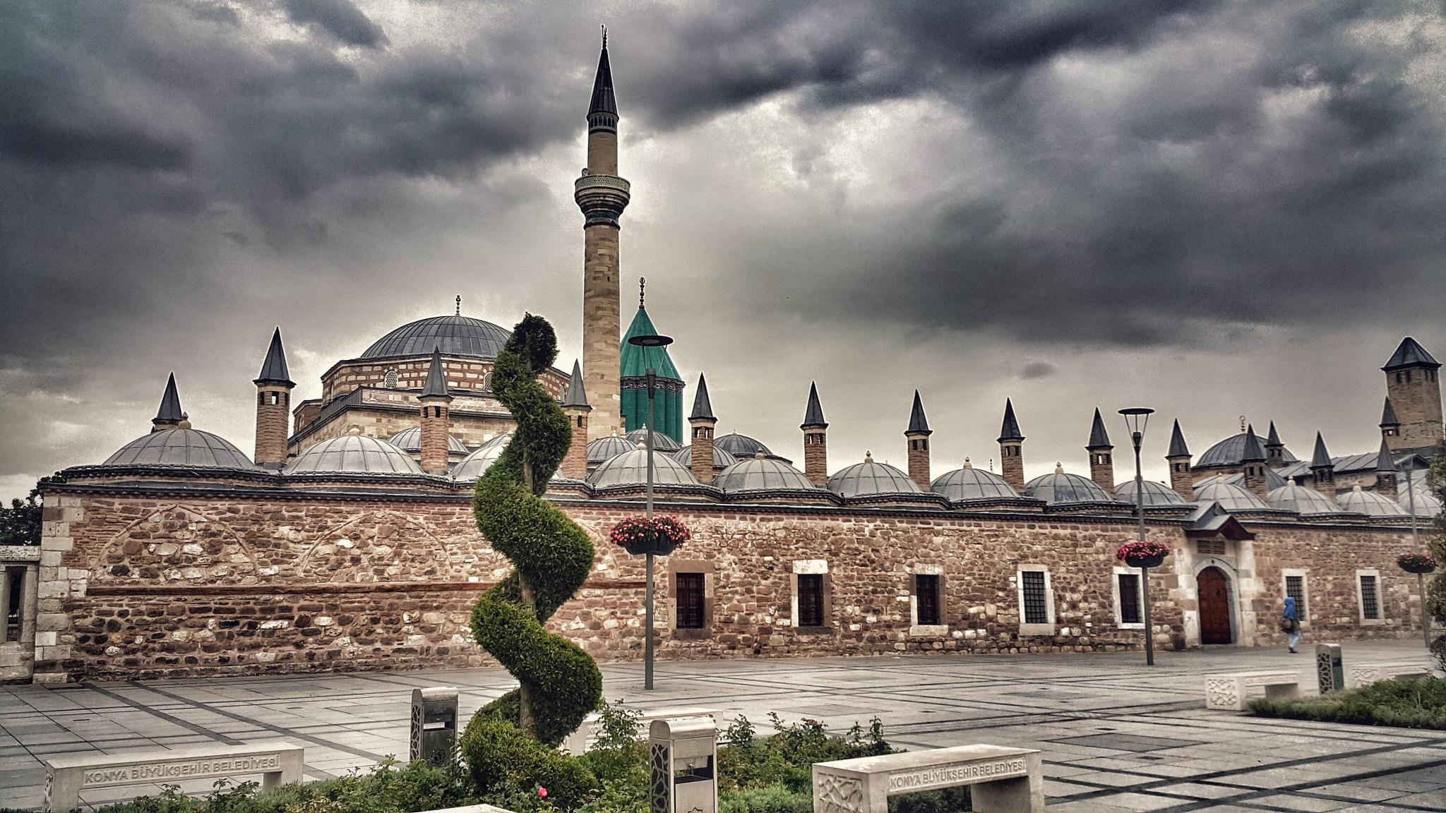 Before visiting The Mevlana Museum by Meriç Aksu