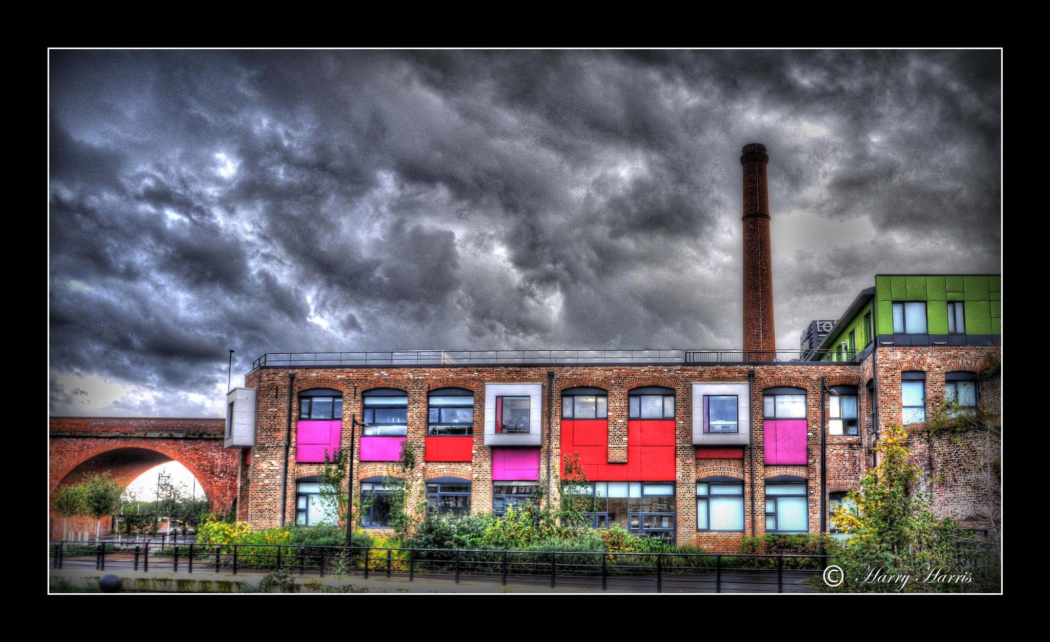 The Toffee Factory. Newcastle upon Tyne. England. by Harry Harris.