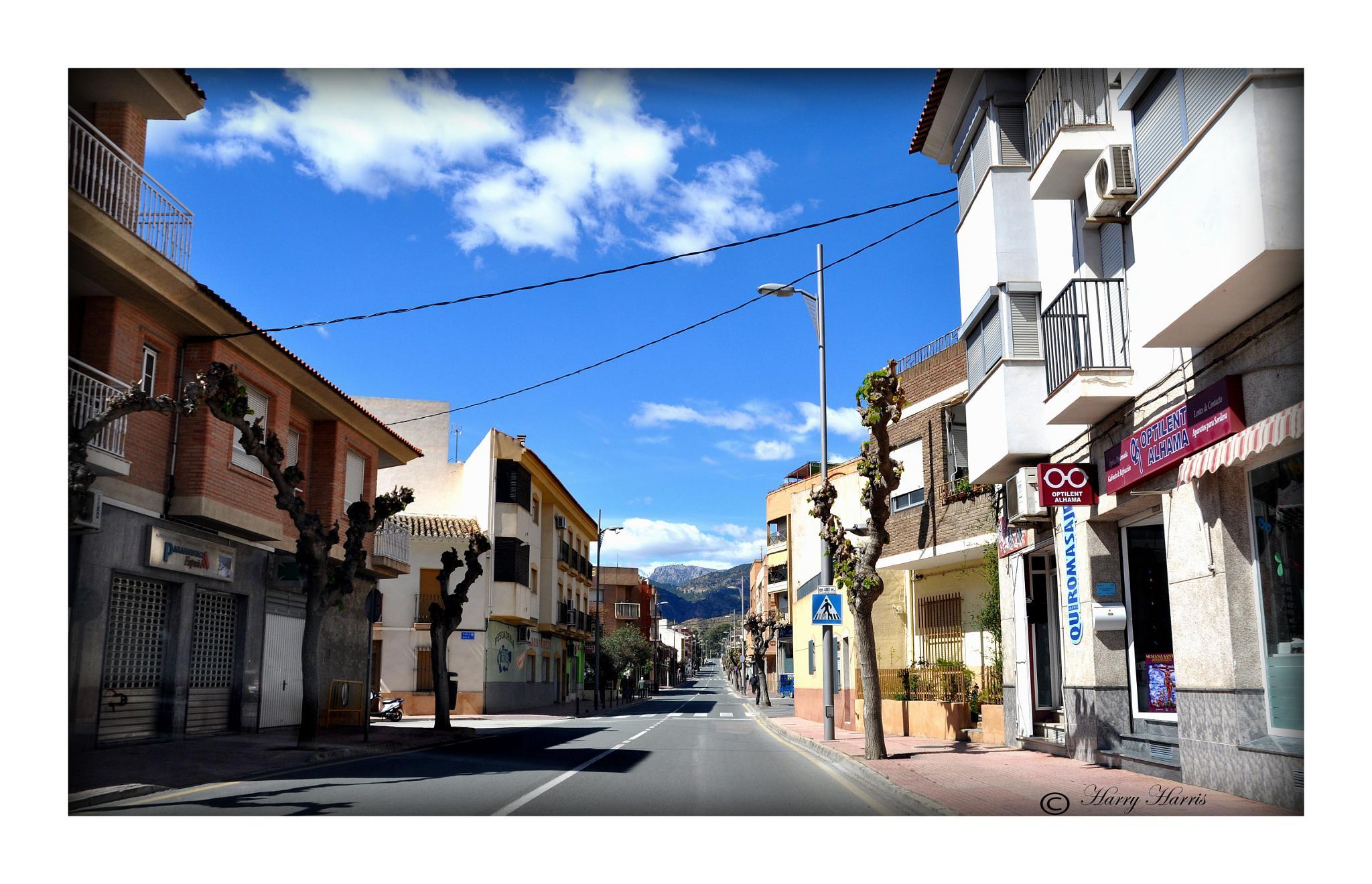 Siesta. Alhama. Murcia. Spain. by Harry Harris.