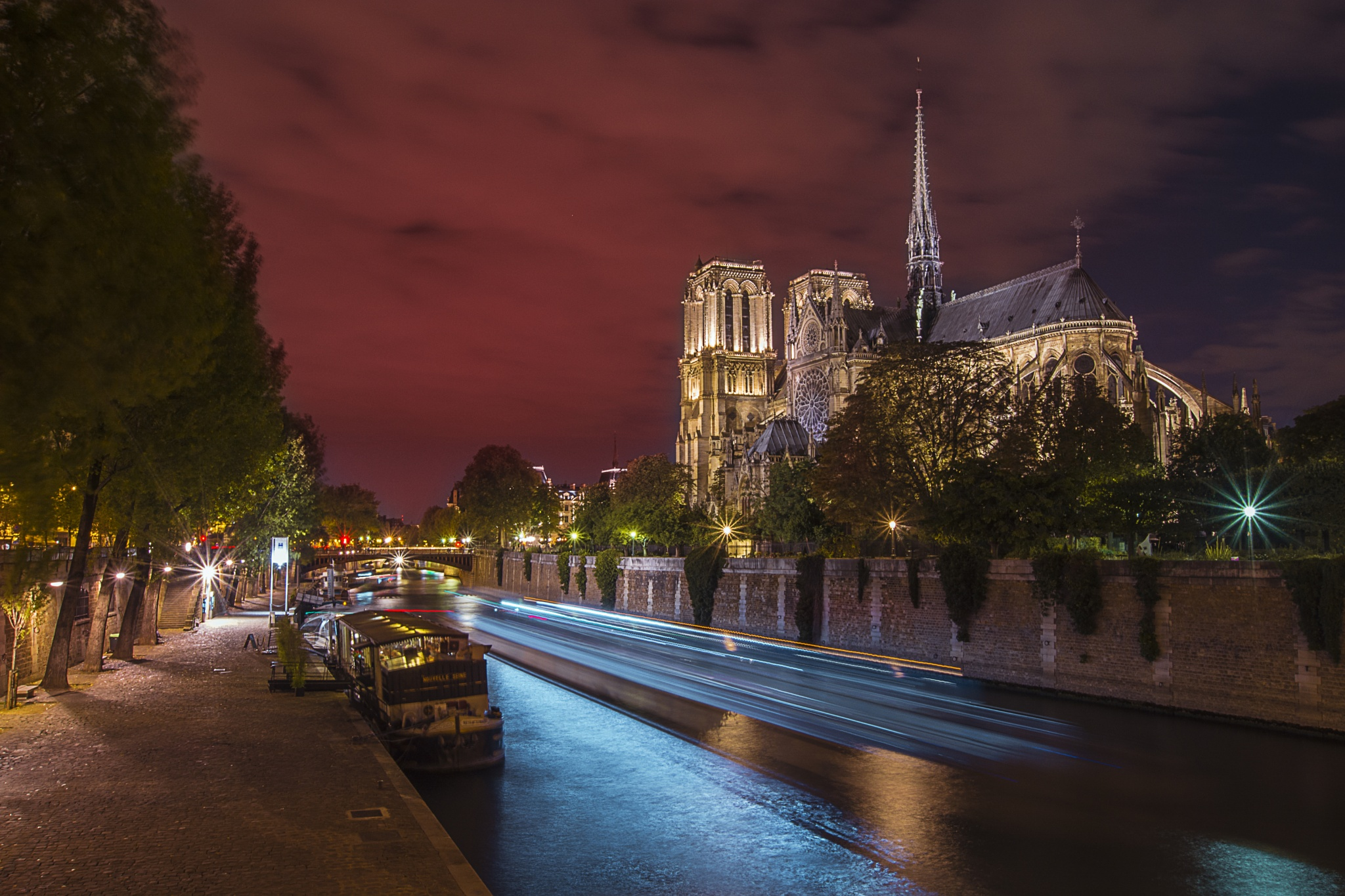 Je t'aime Notre Dame by Roman The Great