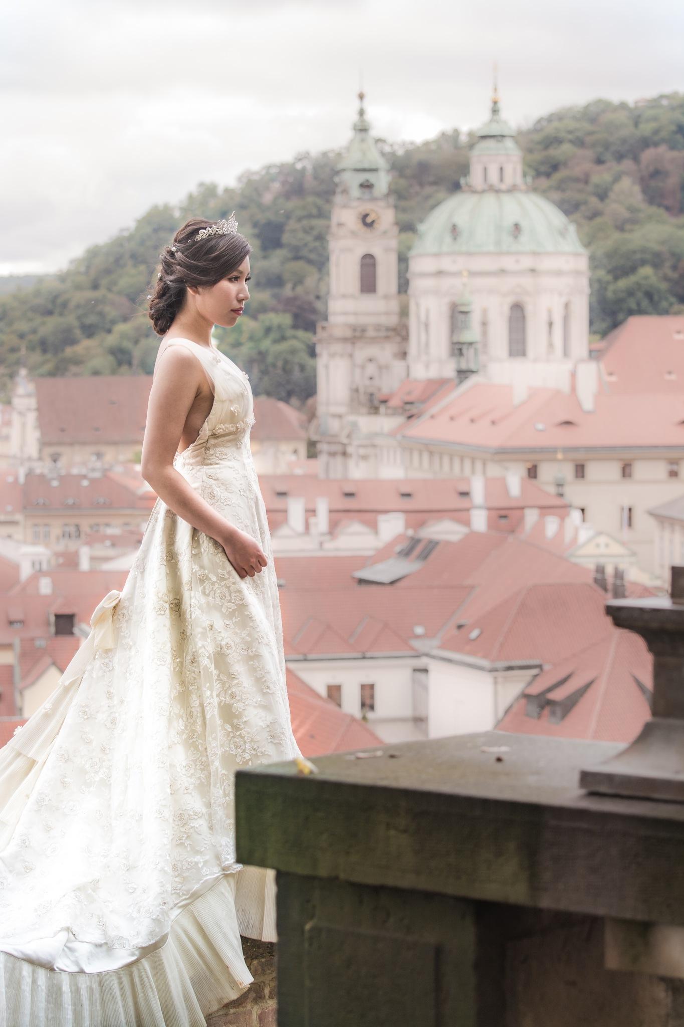 Prague bride by Roman The Great