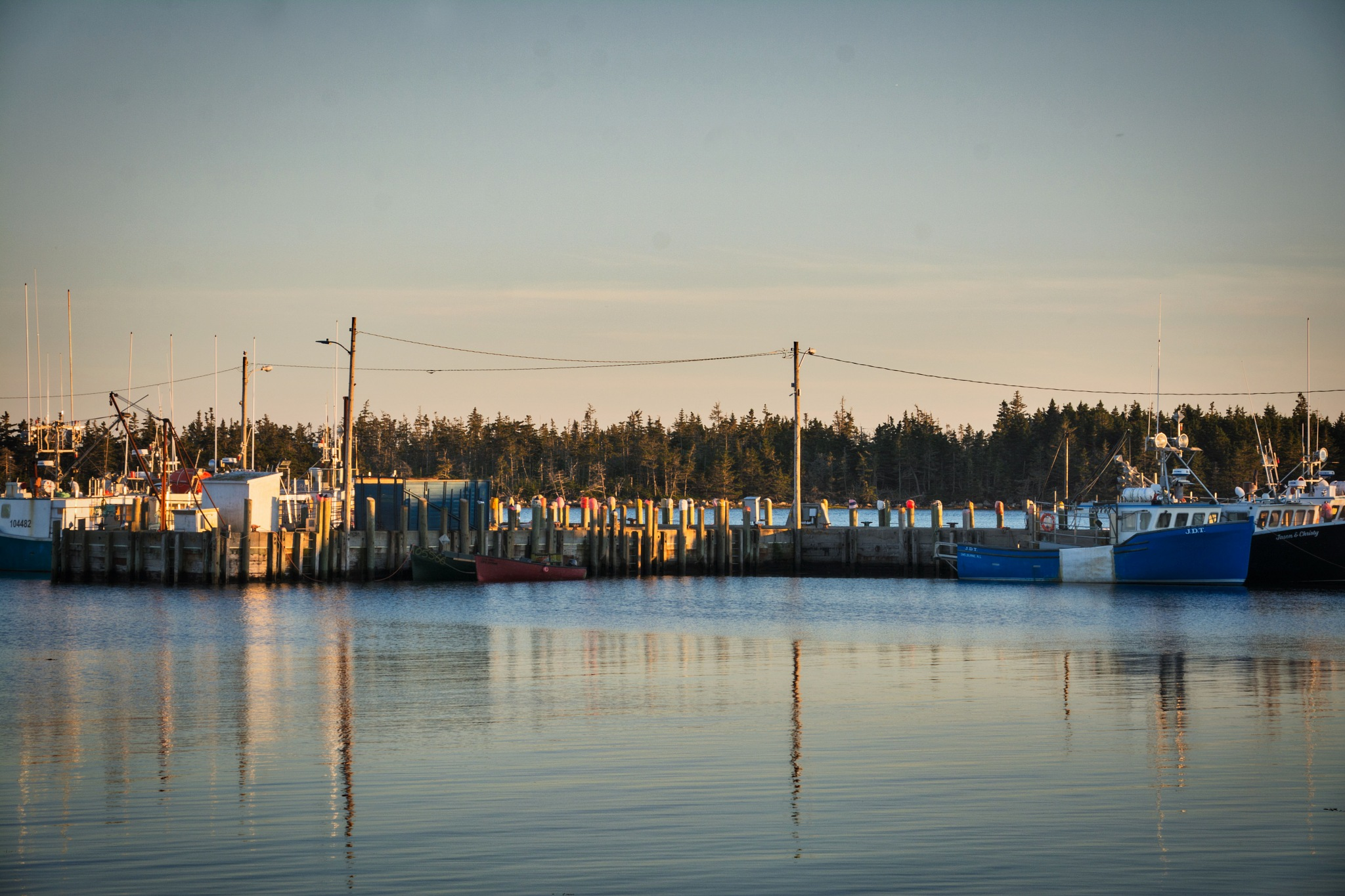 Cape Sable Island Wharf by Wayne L. Talbot
