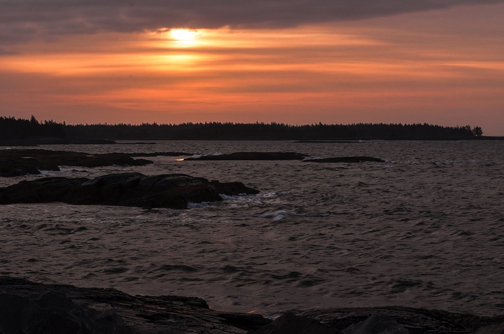 Sun Rising Over the Atlantic by Wayne L. Talbot