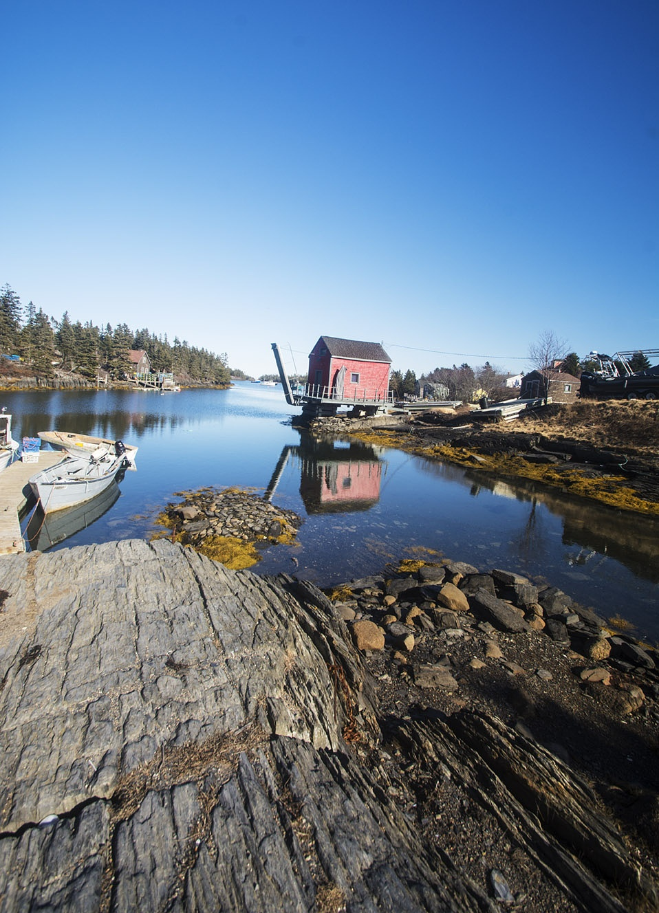Tidal Inlet by Wayne L. Talbot