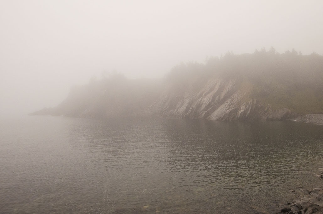 Fogged In Cove by Wayne L. Talbot