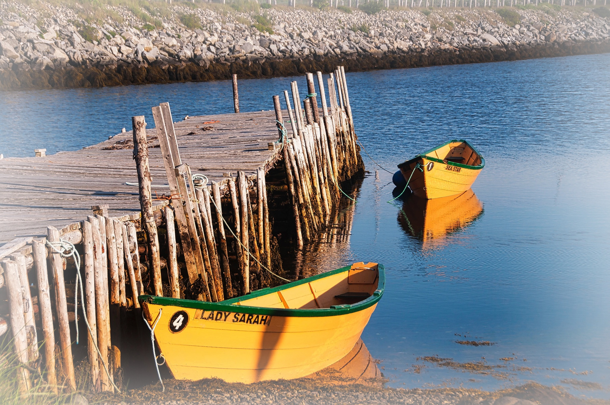 Row Boats by Wayne L. Talbot