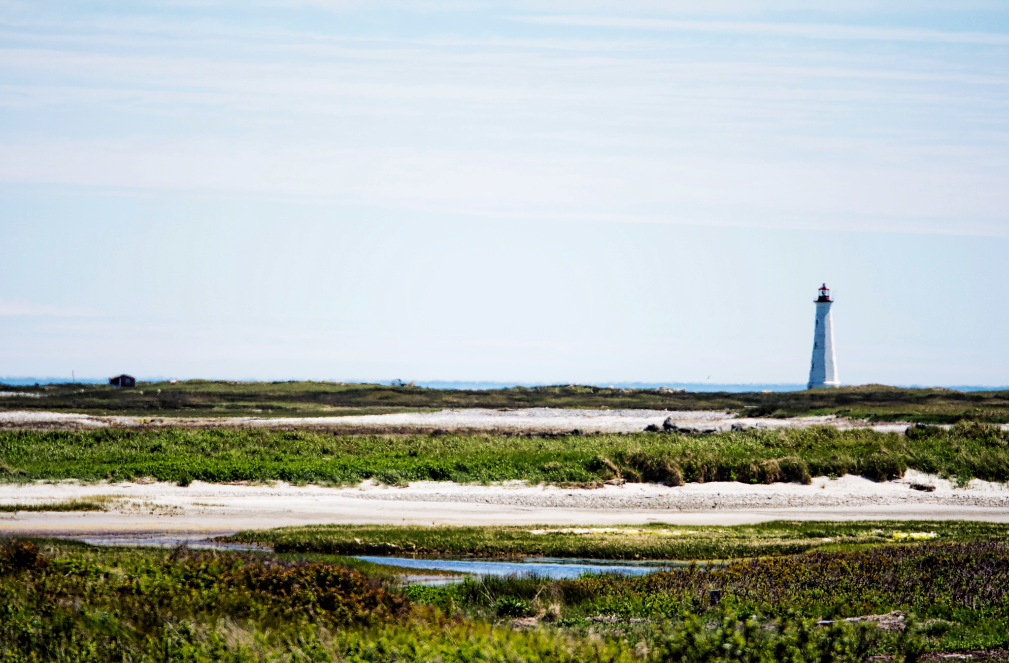 Cape Sable Light II by Wayne L. Talbot
