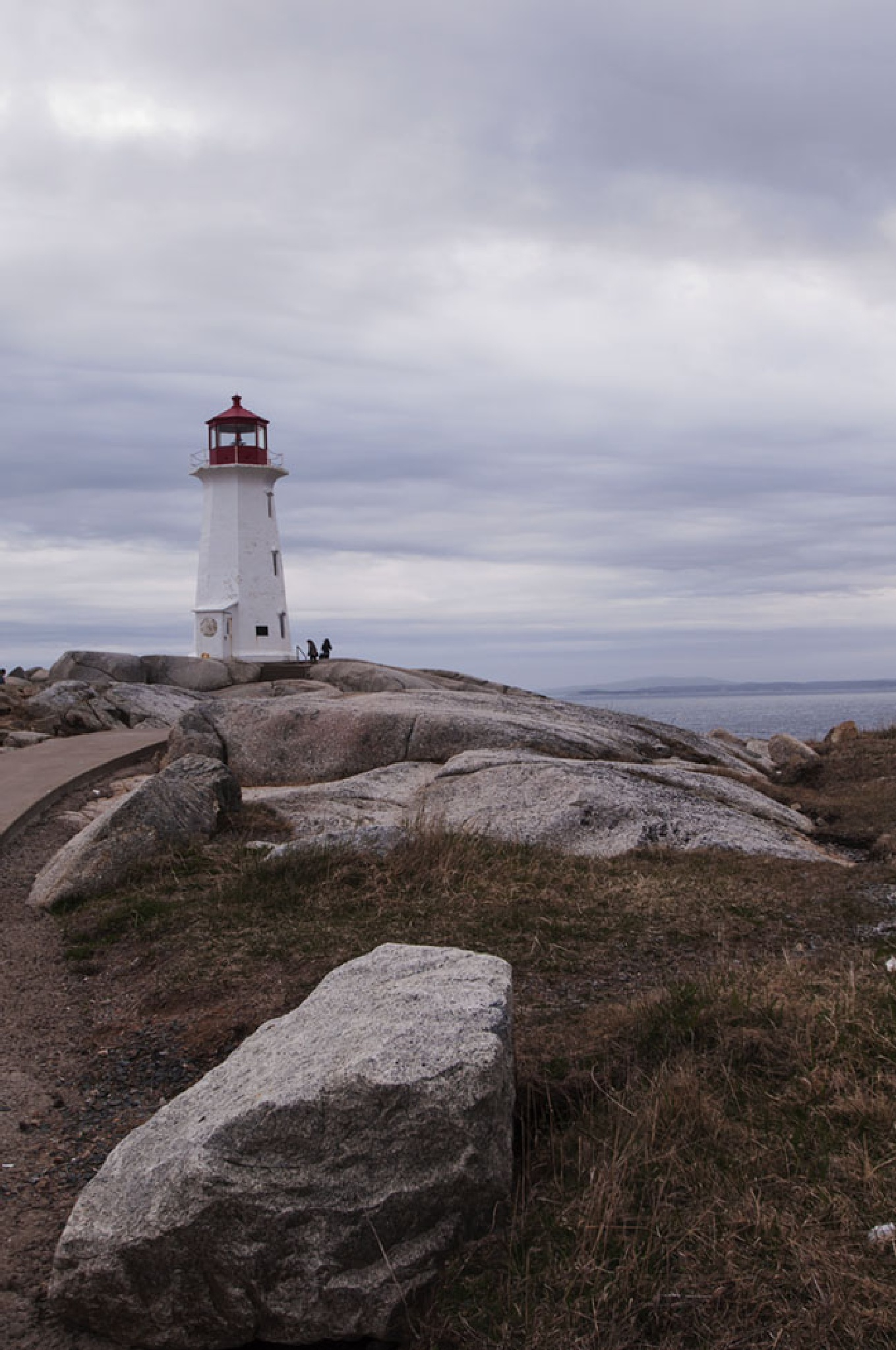 Peggy's Cove Lighthouse by Wayne L. Talbot