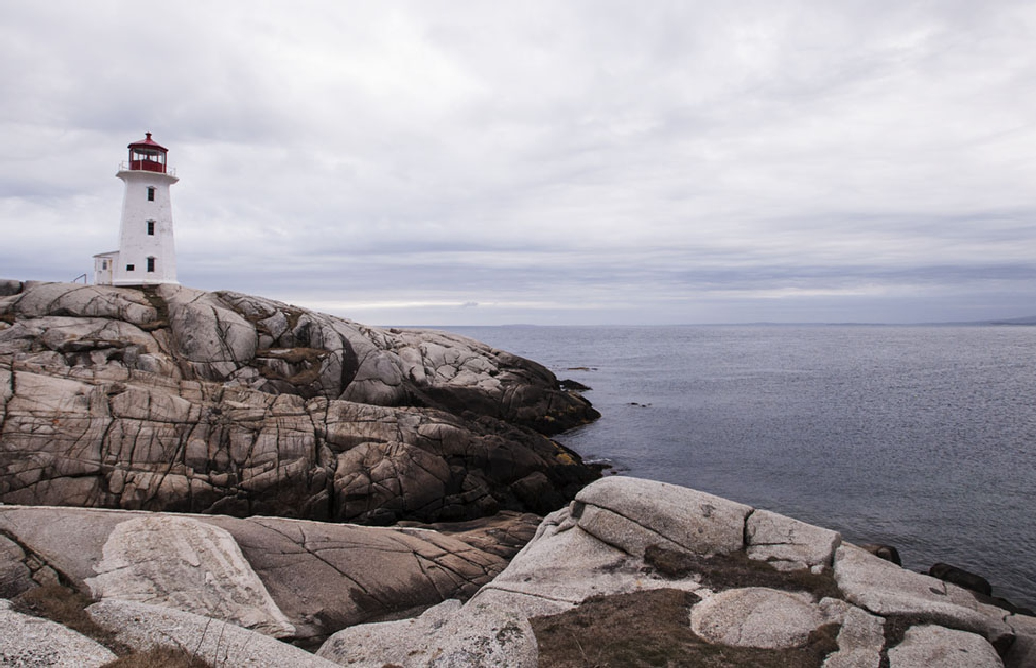 Peggy's Cove Lighthouse 3 by Wayne L. Talbot