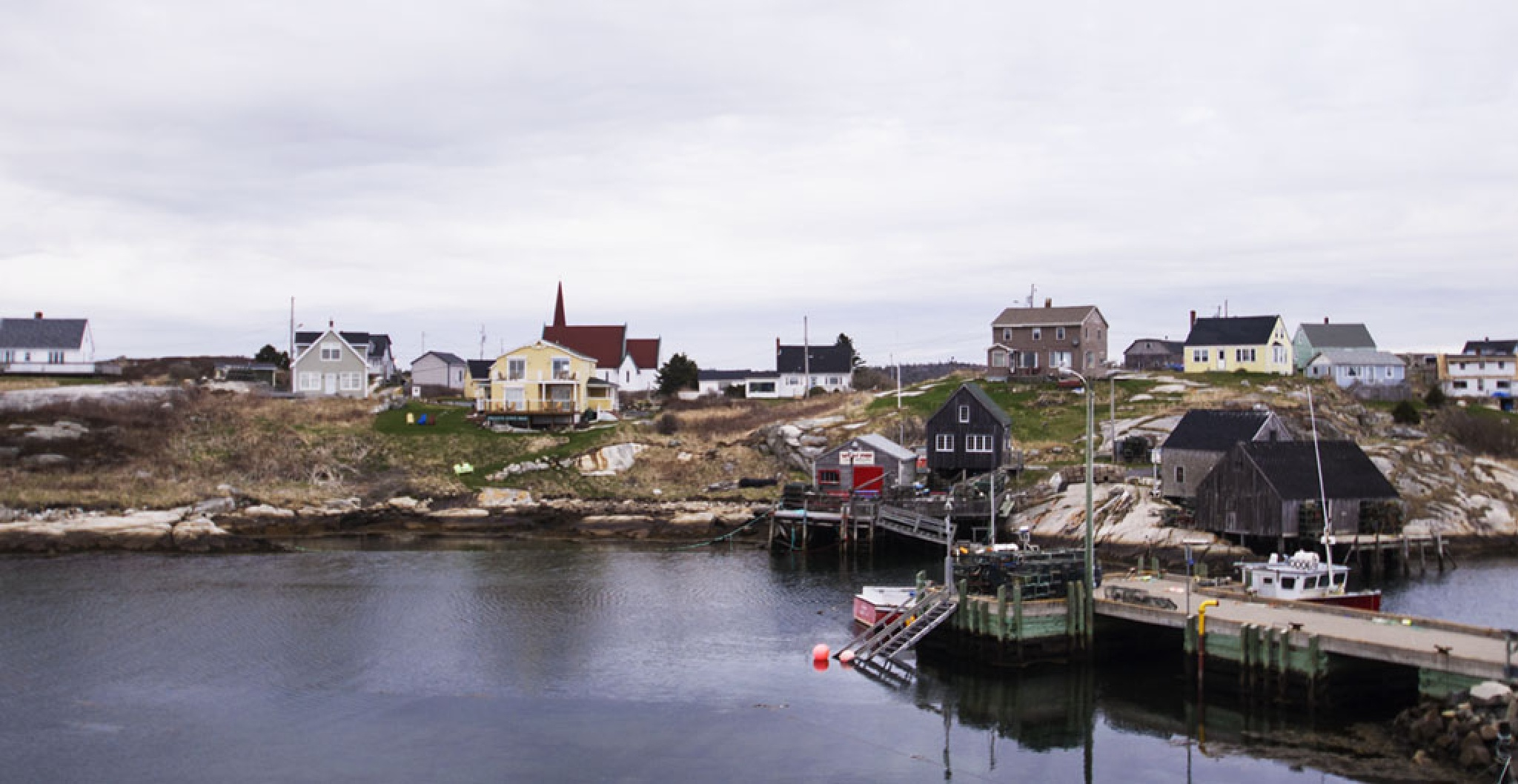 Village of Peggy's Cove by Wayne L. Talbot