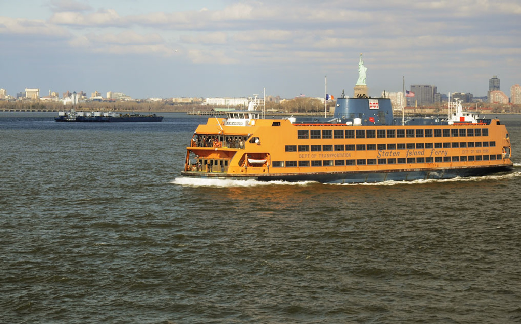The Famed Staten Island Ferry by Wayne L. Talbot