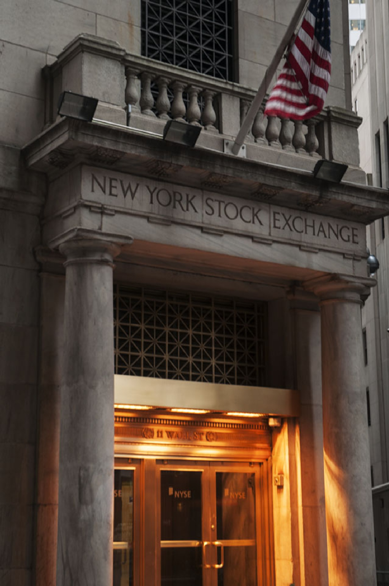 NY Stock Exchange by Wayne L. Talbot