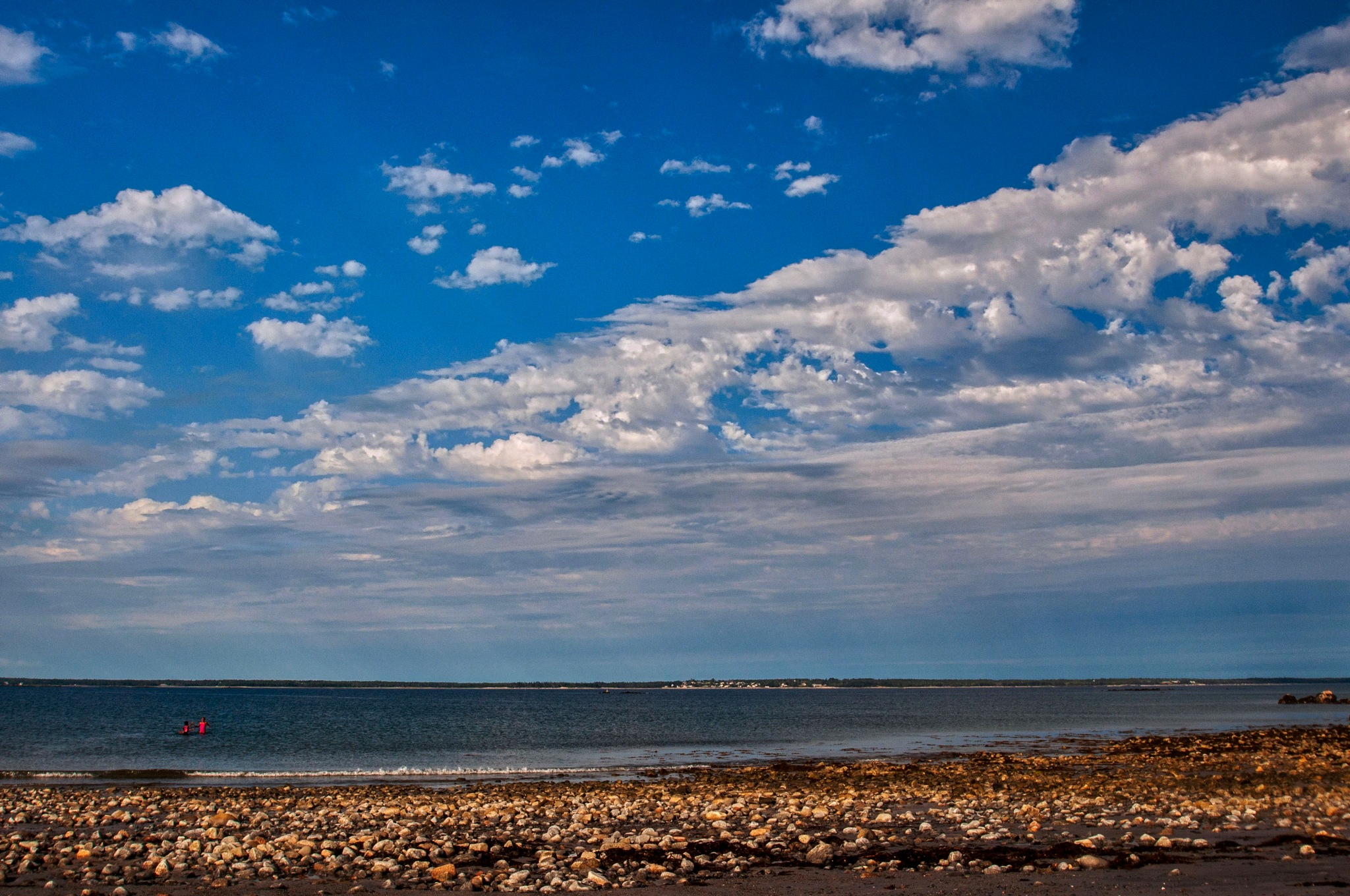 Clouds Over the Beach by Wayne L. Talbot