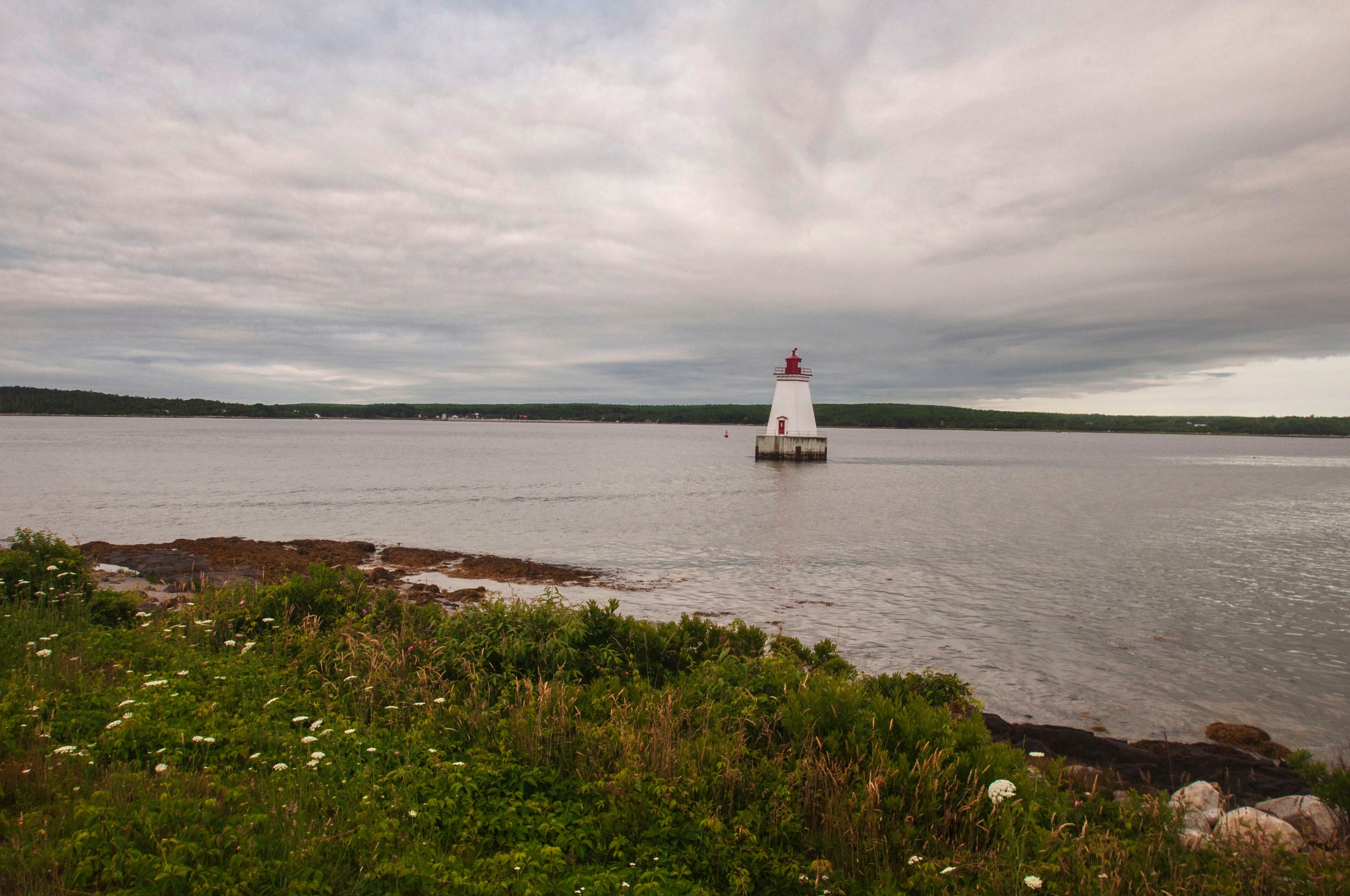 Sandy Point Lighthouse II by Wayne L. Talbot