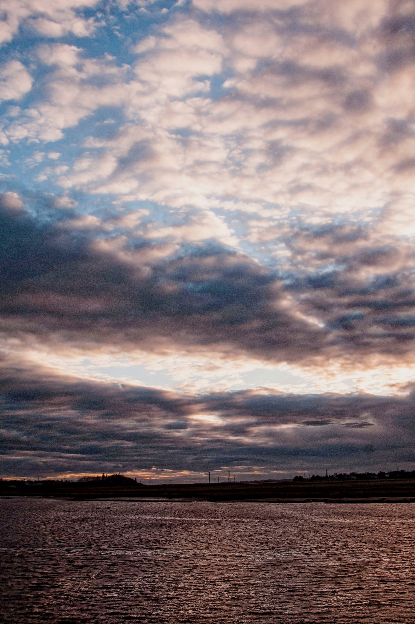 Clouds Over the Shubie Canal  by Wayne L. Talbot