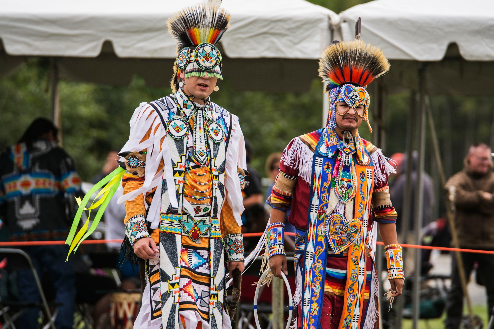 Traditional Dancers  by Wayne L. Talbot