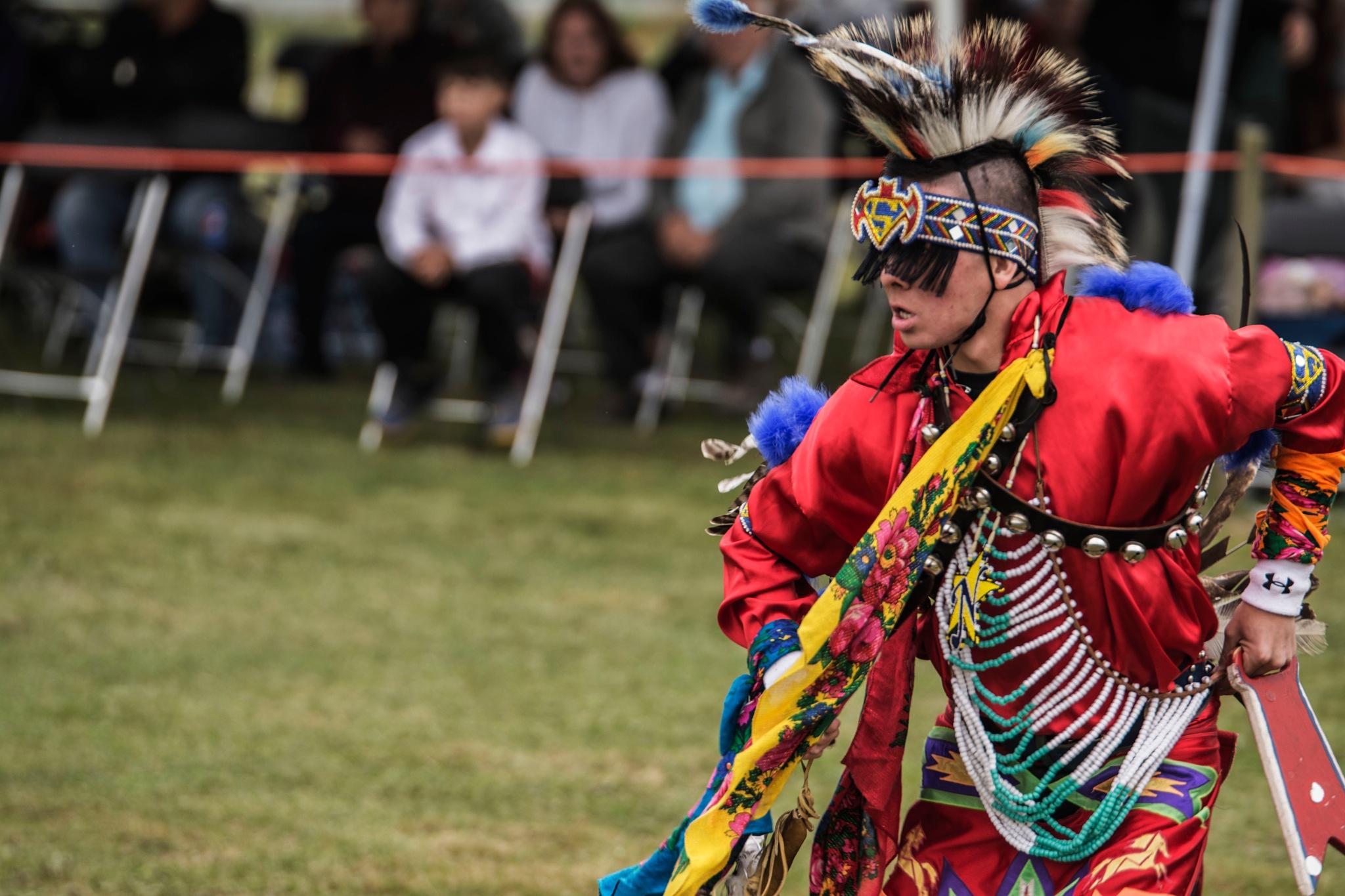 PowWow Day 2 by Wayne L. Talbot