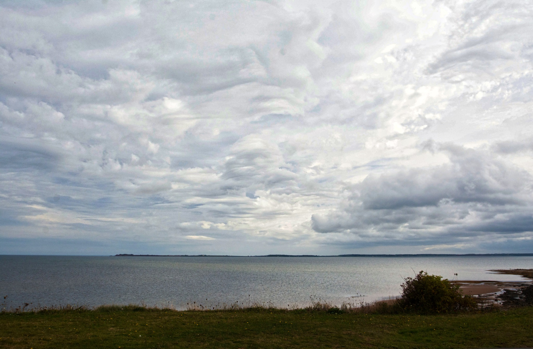 Clouds Over the Bay by Wayne L. Talbot