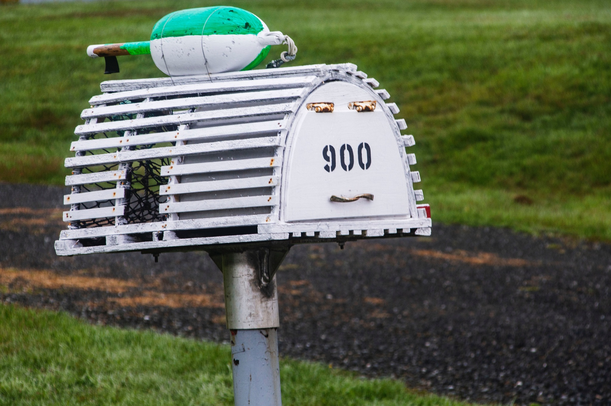Country Mailbox by Wayne L. Talbot